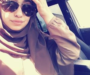 hijab and sunglasses image