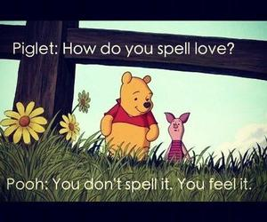 love, piget, and bear poh image