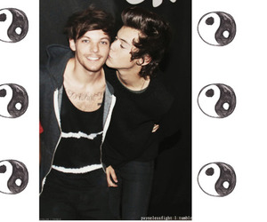 bromance, kiss, and larry image