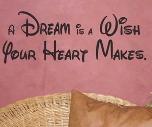 Dream, disney, and heart image