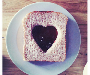 heart, love, and food image