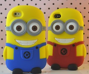 in, minions, and samsung image