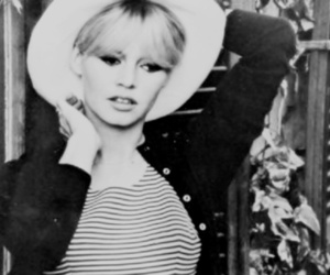60s, black and white, and brigitte bardot image