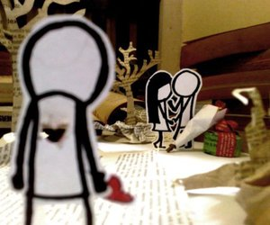 love, heart, and sad image