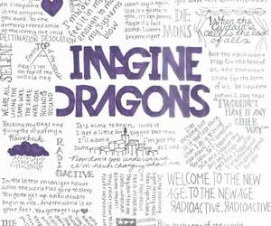 imagine dragons, music, and Lyrics image