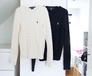 ralph lauren, sweater, and style image