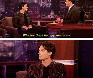ian somerhalder, vampire, and damon salvatore image