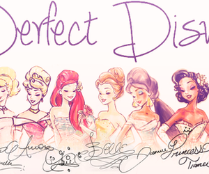 disney, princess, and perfect image