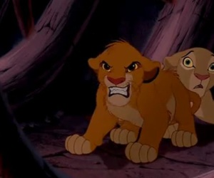 disney, lion king, and nala image