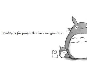 anime, reality, and totoro image