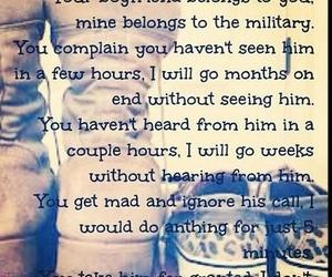 military, love, and quote image