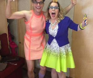 criminal minds, matthew gray gubler, and kirsten vangsness image