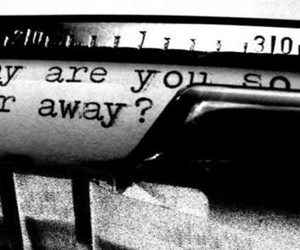 far away, missing you, and love image