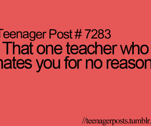 teacher, hate, and teenager post image