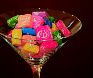 candy, starburst, and sweet image