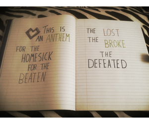 Lyrics, battle scars, and paradise fears image
