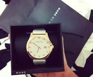 girly, watch, and marc jacobs image