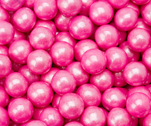 pink, pearls, and candy image