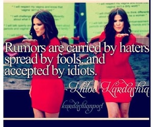 quote, text, and kardashian image