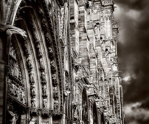 beautiful, Cathedrale, and doors image