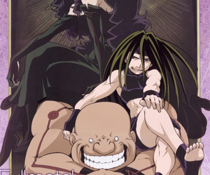 gluttony, fullmetal alchemist, and anime image
