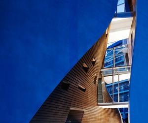blu, design, and interior image