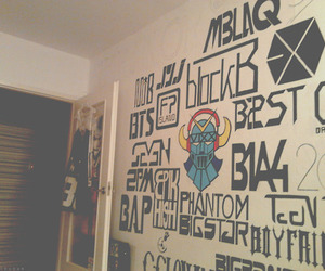 kpop, exo, and 2PM image