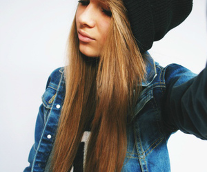 girl, hair, and swag image