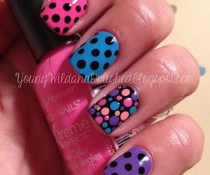 color, pink, and nail art image