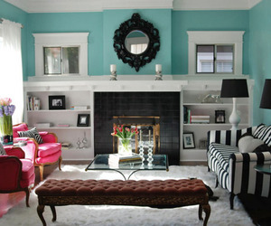 living room, interior design, and decor image