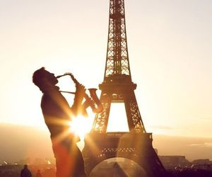 paris, france, and music image