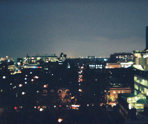 buildings, lights, and city image