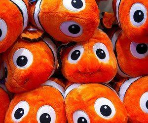 nemo, fish, and orange image