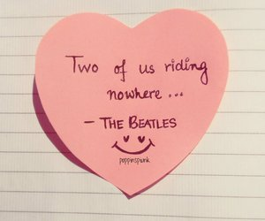 the beatles, valentines, and pink image