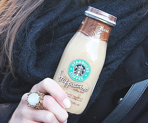 starbucks, frappuccino, and ring image