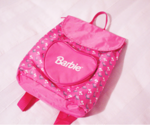 barbie, bag, and pink image