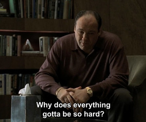 quote, quotes, and sopranos image