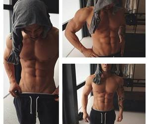 abs, body, and man image
