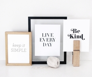 quote, simple, and kind image