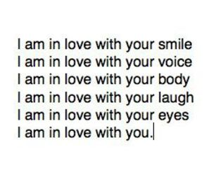 everything, i AM, and in love image