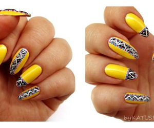 African, nail art, and pattern image