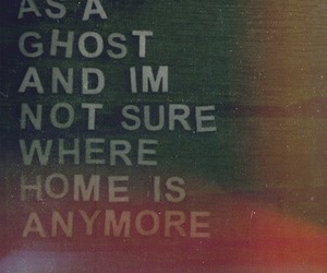 ghost, home, and quote image