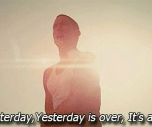 eminem, yesterday, and quote image