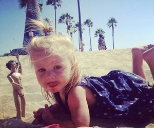 baby, beach, and lux image