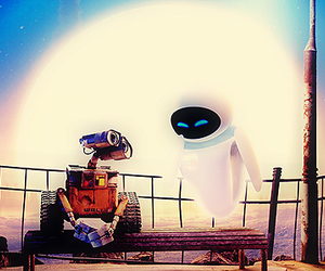 disney, walle, and pretty image