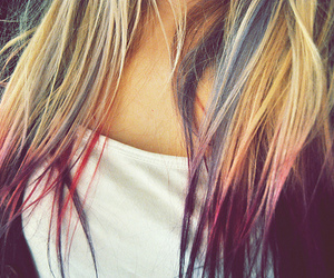 blonde, dye, and hair dye image