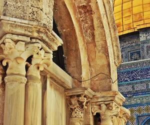 dome, palestine, and Jerusalem image
