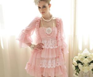 baby doll, dress, and romantic image