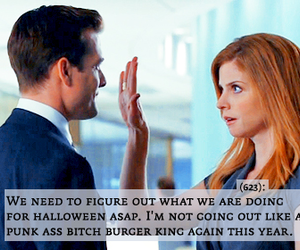 donna, harvey, and suits image