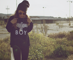 girl, boy, and style image